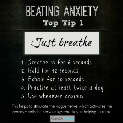 Beating Anxiety Top Tip Series
