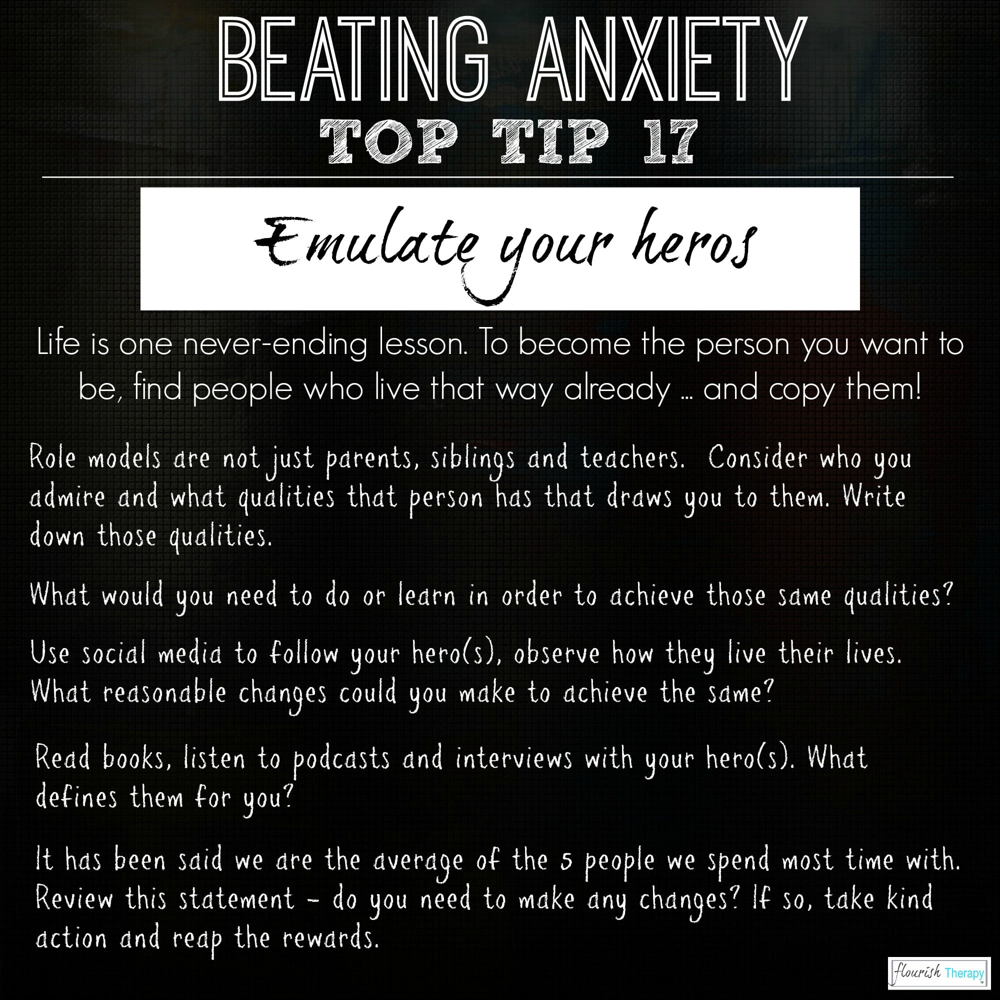 Beating Anxiety Infographics Psychotherapy Hypnotherapy