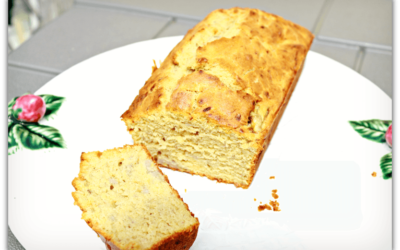 Scrumptiously moist banana loaf