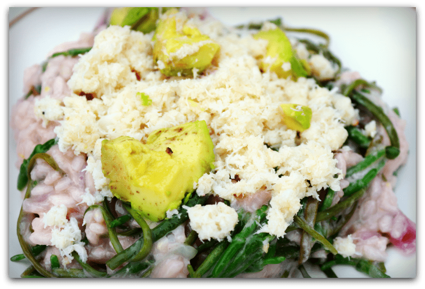 Crab and seaweed risotto | Psychotherapy, Hypnotherapy, Massage | Nr ...