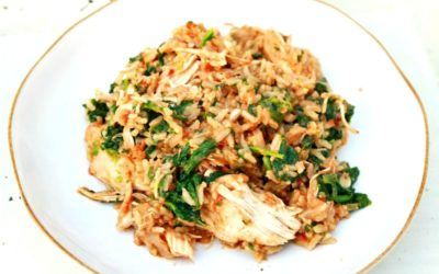 Zesty coconut chicken with coriander and garam masala