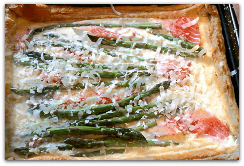 Salmon and Asparagus Tart | Psychotherapy, Hypnotherapy, Massage | Nr ...