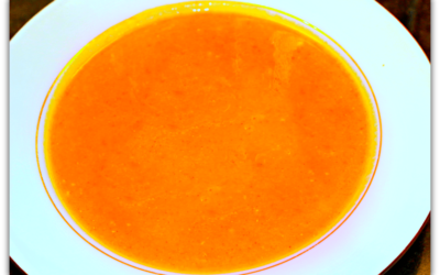 Curried Carrot and Orange Soup