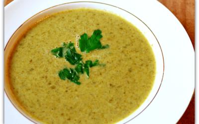 Lime and Parsley Soup