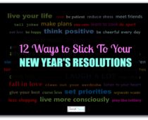 12 Ways To Stick To Your New Year's Resolution