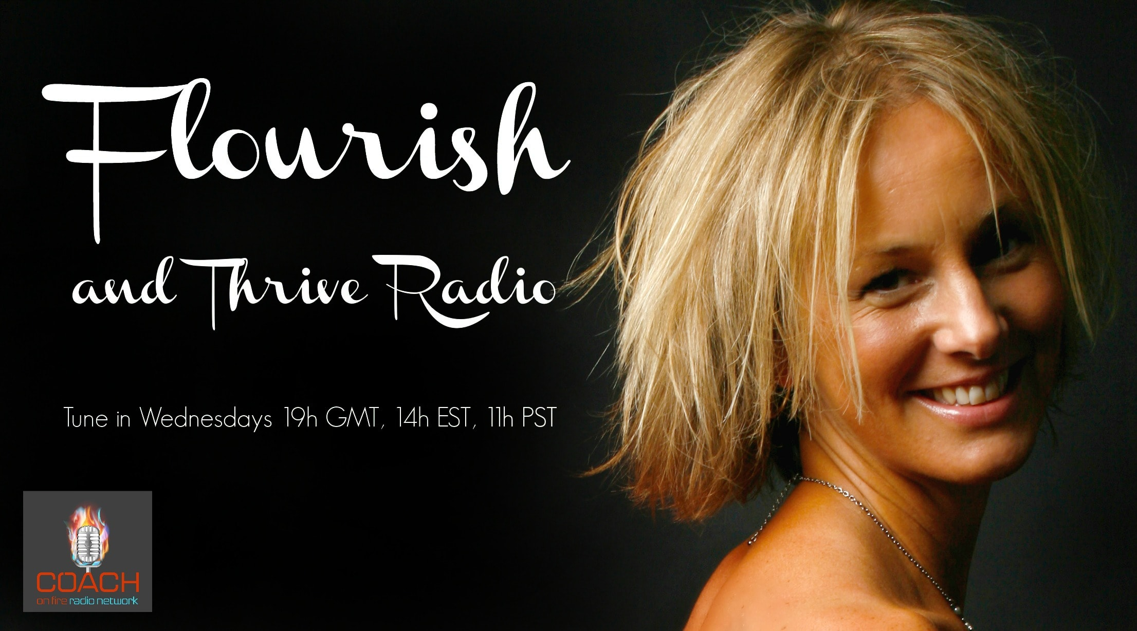 Flourish and Thrive Radio Show Header
