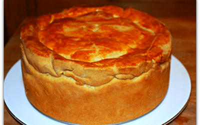 Gammon and Turkey Raised Pie in Cider