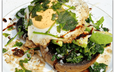 Mushroom, Spinach and Egg Brunch