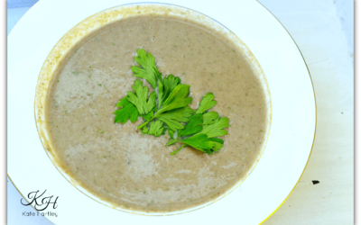 Mushroom and Parsley Soup