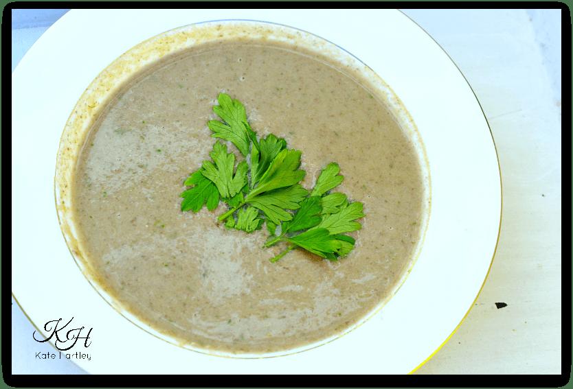 Mushroom and Parsley Soup