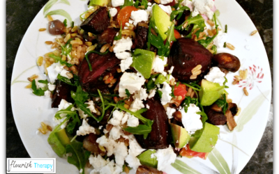 Roast Beetroot Feta Salad